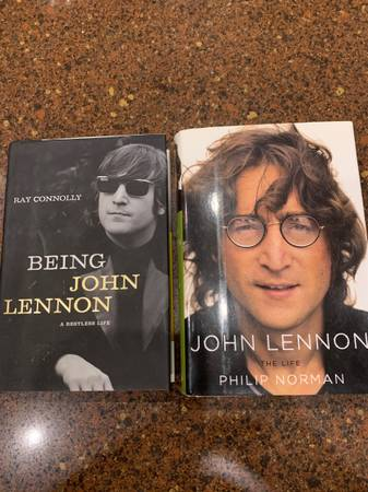 Photo 2 Hardcover Biographies of John Lennon - $25 (Spring Branch)