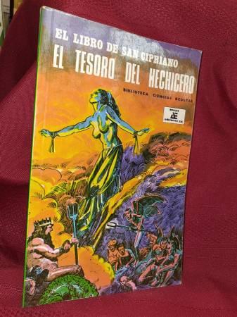 Photo El Libro de San Cipriano-Occult, magic, spells , exocism - $10 (Kostoryz-The Book Guy)