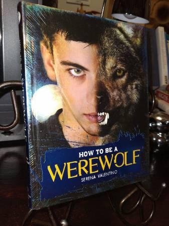 Photo How to be a Werewolf - $5 (kostoryz The Book Guy)