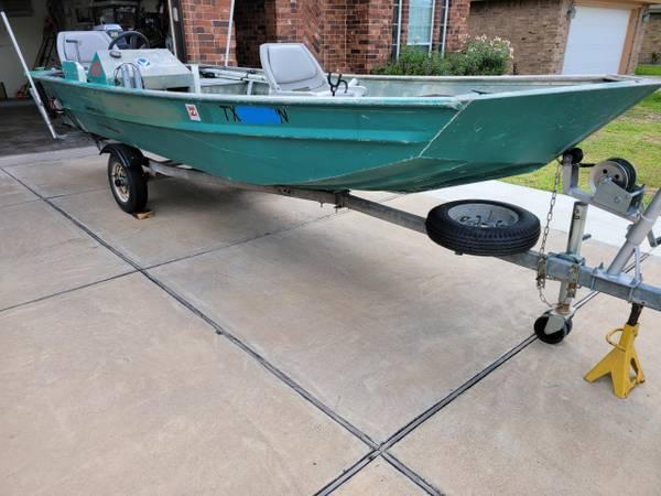 Photo Jon Boat Lancha de Aluminio John Boat - $2,200 (Brownsville)