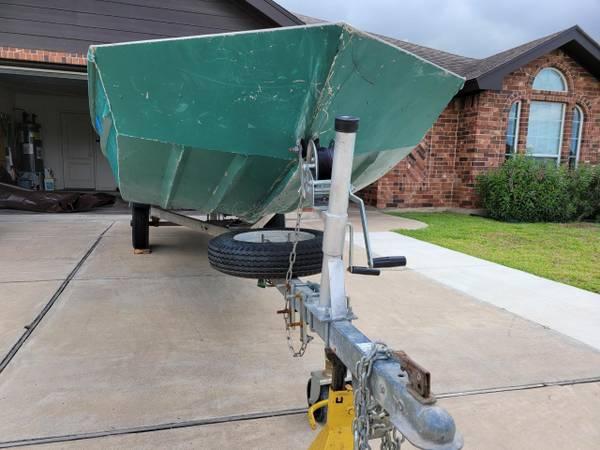 Photo Lancha de Aluminio Jon Boat John Boat - $2,200 (Brownsville)