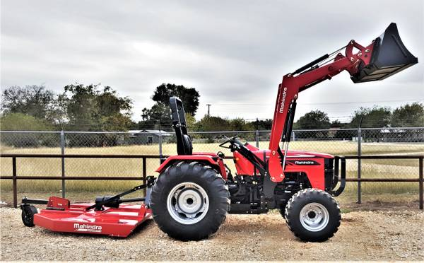 Photo Mahindra 4540, 4x4, w loader, Labor Day Special Package Deal - $26,995 (New Braunfels)