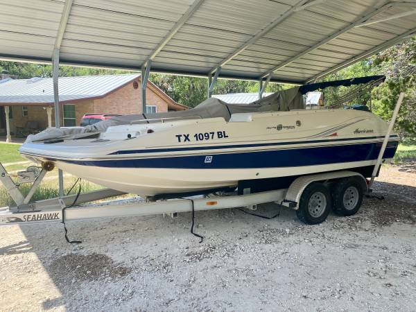 Photo Pending sale - 2011 Hurricane Deck Boat - $28,999 (Spring Branch, TX)