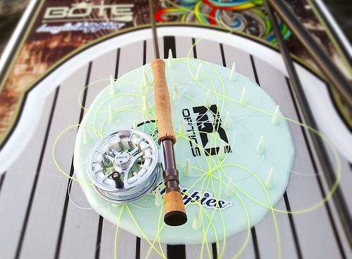 Photo Poling Skiff Fly Fishing Line Management - $119
