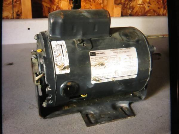 Photo Sears Craftsman Electric Motor - $50 (Alamo)