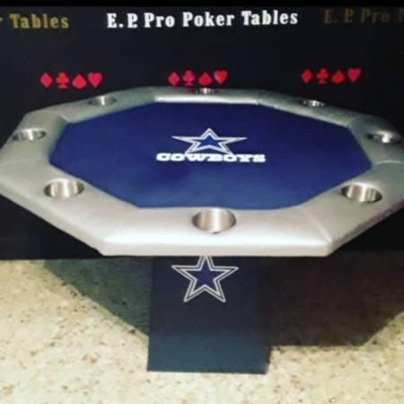 Photo Cowboys poker table  - $299 (Mcallen)