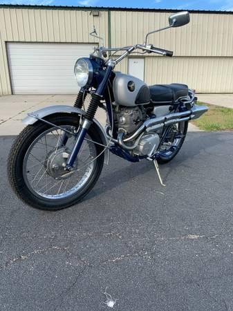 Photo 1965 Honda CL77 Scrambler - $5,500 (Atlantic Beach)
