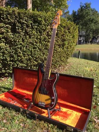 Photo 1966 Fender Precision Bass - $7,600 (Hilton Head Island, SC)