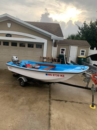 Photo 1972 Boston Whaler Sport 13 foot Only Used in Freshwater - $7,500 (Jacksonville)