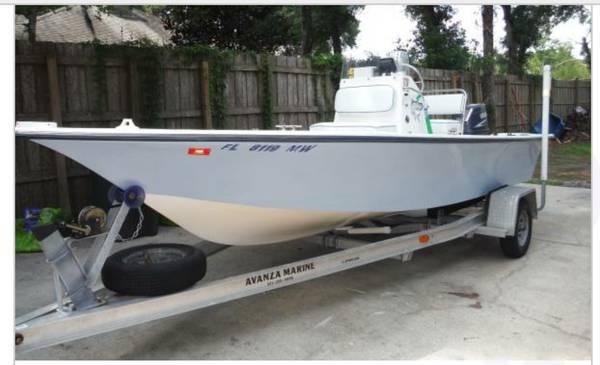Photo 2005 1839 bay boat 90 hp yamaha 2 stroke wtrailer - $8,000 (St Mary39s)