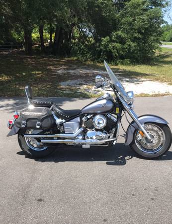 Photo 2005 YAMAHA V-STAR 650 CLASSIC 21K MILES - $280 (GRAY BEARDS CYCLE BARN)