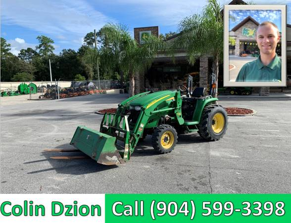 Photo 2012 USED John Deere 3320 TractorLoader FULL SERVICE DONE - $16,499 (CALL OR TEXT COLIN (904) 599-3398)