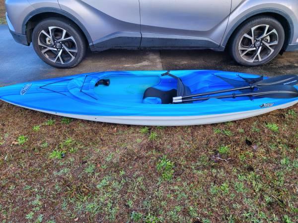 Photo 2- 8ft kayaks, barely used - $150 (Kingsland)