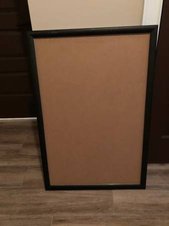 Photo (6) BLACK 1 ALUMINUM PROFILE FRONT-LOADING SNAP POSTER FRAME 36 X 24 - $25 (Palm Coast)