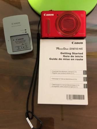 Photo CANON CAMERA - $25 (RIVERSIDE)