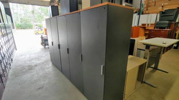 Photo Create a Wall of Storage - 24x72 - Price is per Cabinet - 5 shown - $175 (San Mateo)