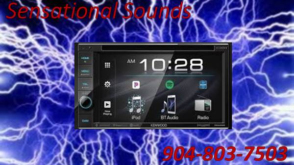 Photo KENWOOD CAR AUDIO TOUCHSCREEN CDDVD BLUETOOTH STEREO INSTALLED - $379 (Jacksonville)