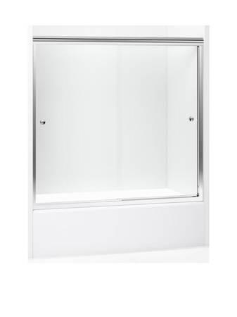 Photo NEW Sterling Finesse Frameless BypassSliding Silver Shower Door - $220 (Palm Valley)