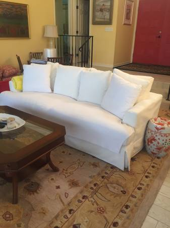 Photo Nearly New White Sofa  Two Chairs from Dutchmans - $2,500 (St. Simons)