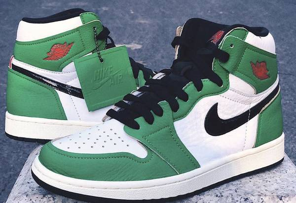 Photo Nike Air Jordan Retro 1 High Lucky Green Size W8M6.5 Brand New DS - $230 (Southside)