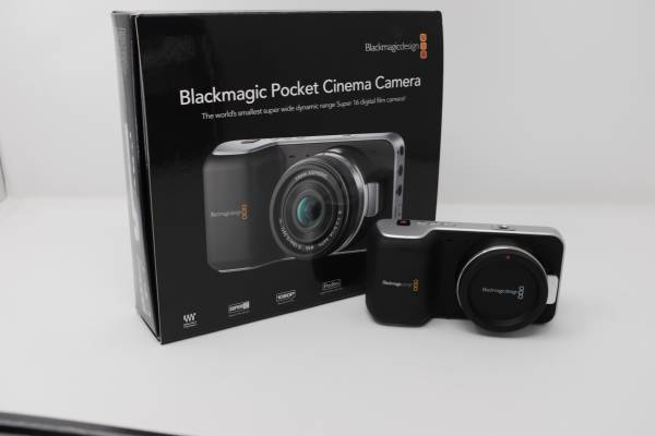 Photo Old School Blackmagic Pocket Cinema Cam - $450 (St. Augustine)