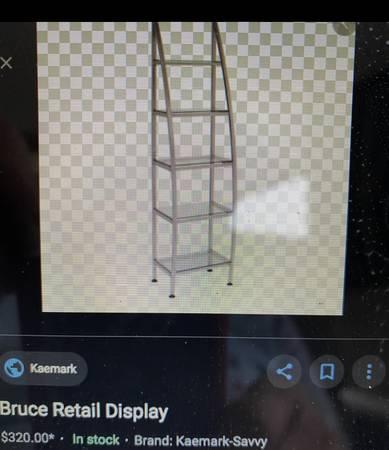 Photo Salon Retail Display - $125 (Southside)