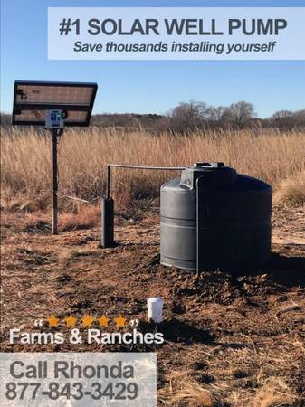 Photo Solar powered deep well pump Small-scale and commercial-scale - $1,550 (brunswick)