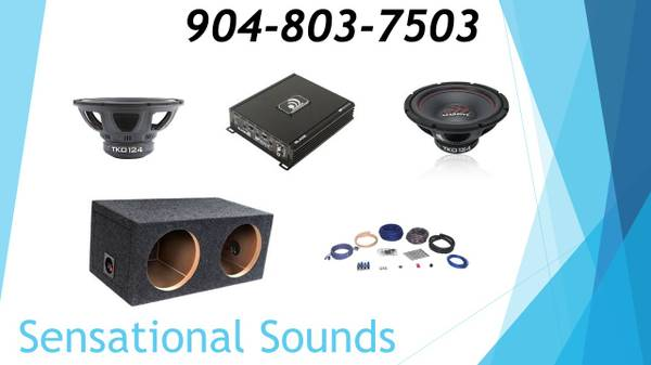 Photo Two 12quot Car Audio Bass Package Installed - $429 (Jacksonville)