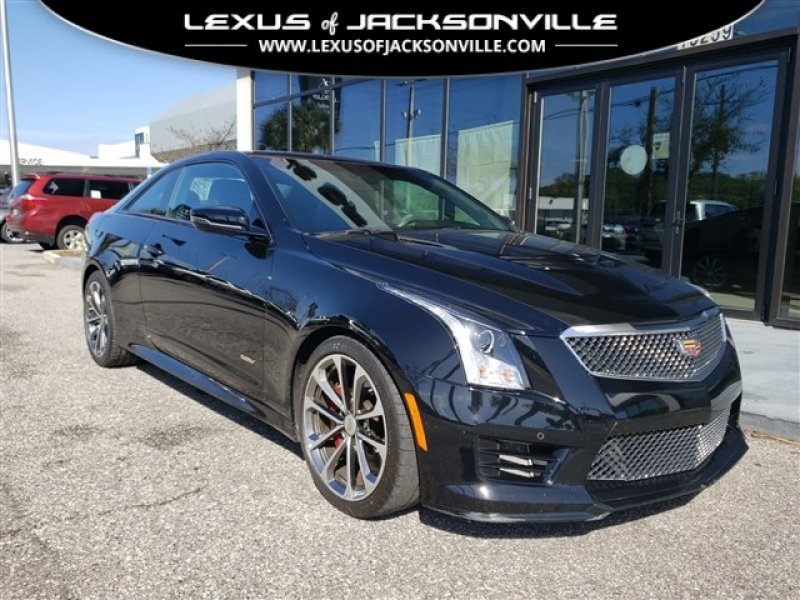 Photo Used 2017 Cadillac ATS V Coupe w Luxury Package for sale