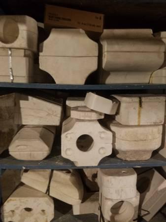 Photo 10039s of ceramic molds - $1 (383 Abbott rd)