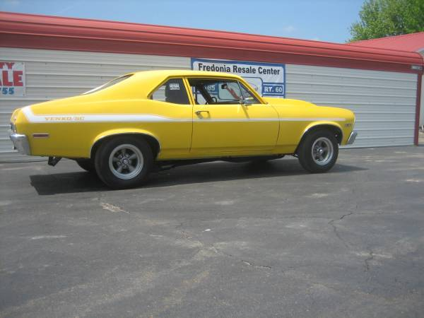 Photo 1972 Chevy Nova - $22900 (Fredonia)