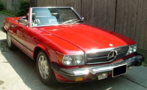 Photo 1983 Mercedes Benz 380sl convertible - $13,999 (Toronto)