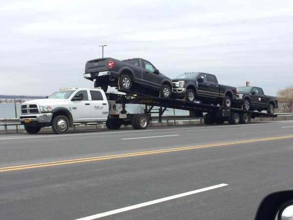 Photo 2012 ram5500 car hauler hot shot 5th wheel - $45000 (buffalo)