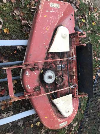 Photo Allis Chalmers Snow Blower Mower Deck Plow - $700 (Amherst)