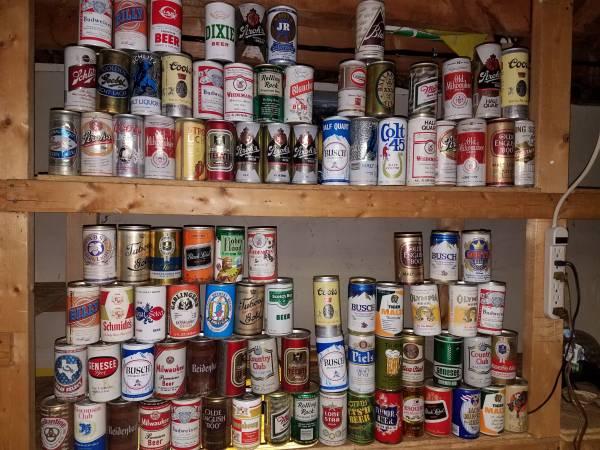 Photo Beer can collection - $500 (North Tonawanda)