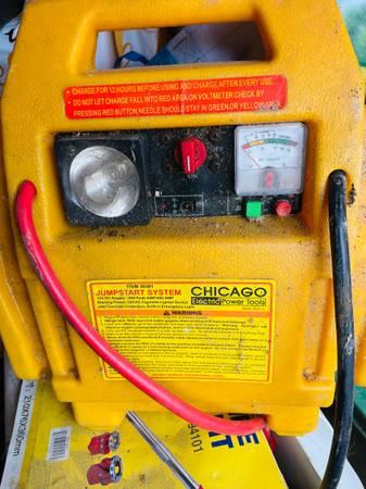 Photo Chicago Electric Auto Jumpstart System - $75 (Buffalo)
