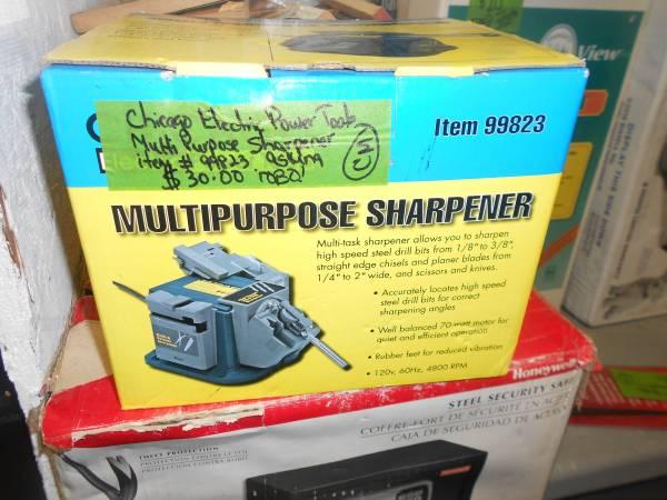 Photo Chicago Electric Power Tool Multi Purpose Sharpener - $30 (NIAGARA FALLS)