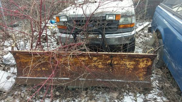 Photo Complete Meyers Snow Plow Setup - $1,200 (92-96 Ford F250 F350)