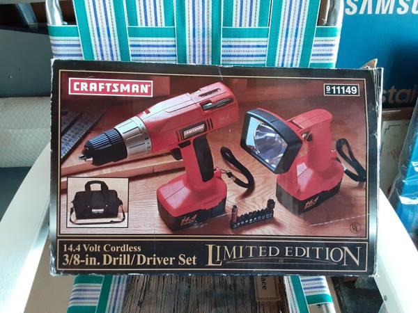 Photo Craftsman 38 Drill Driver set - $50 (Niagara Falls, NY)