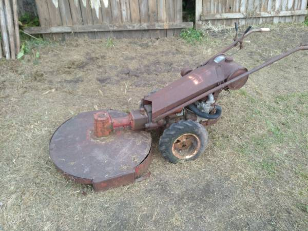Photo Gravely brush mower , walk behind - $425 (Amherst)