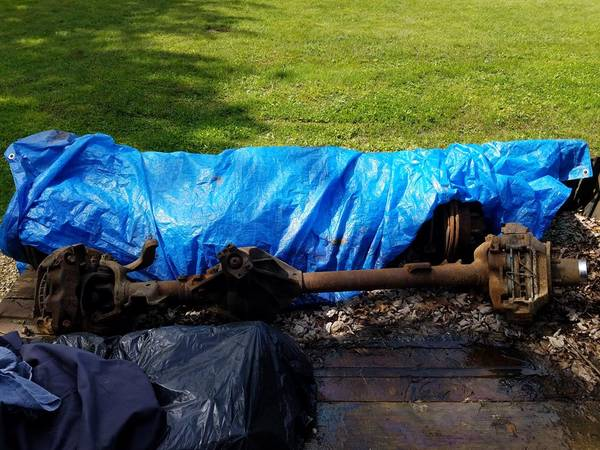 Photo HP Dana 44 axle from a 1979 f250 - $375 (Derby, NY)