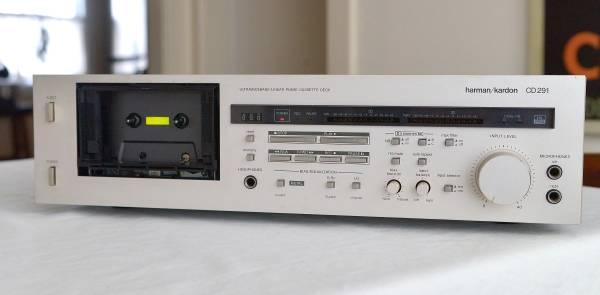 Photo Harman Kardon CD291 Cassette Deck big price drop - $80 (north buffalo)