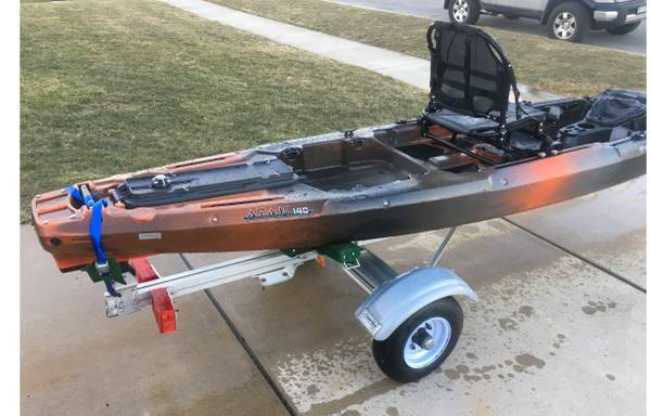 Photo Kayak - Wilderness Systems ATAK 14 w Trailer - $1750 (West Seneca)
