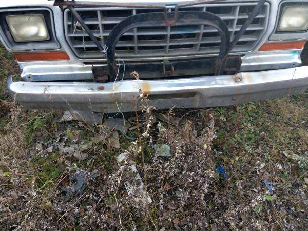 Photo Meyers Plow Frame 1979 Ford F250 F350 4x4 - $250