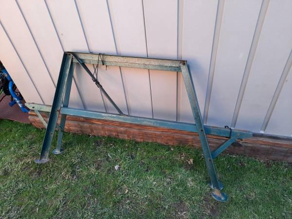 Photo PICNIC TABLE STEEL FRAME, LEGS - $45 (Buffalo)
