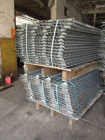 Photo Pallet Racking Steel Wire Decks 68quot or 56quotDeep x 42quot Wide Used - $16 (Buffalo, NY)