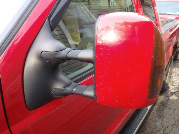 Photo Really Nice Pair Red Ford Power Tow Mirrors with Heat and Turn Signals - $300 (1999-2007 F250 F350 F450 F550)