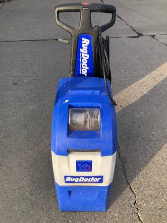 Photo Rug Doctor X3 Carpet Cleaner - $150 (Buffalo)