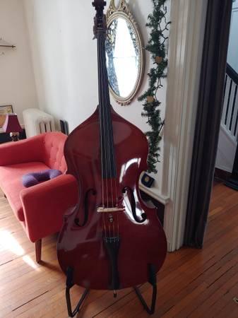 Photo Shen 34 Upright Bass Double Bass Orchestra Bass - $1,499 (Buffalo)
