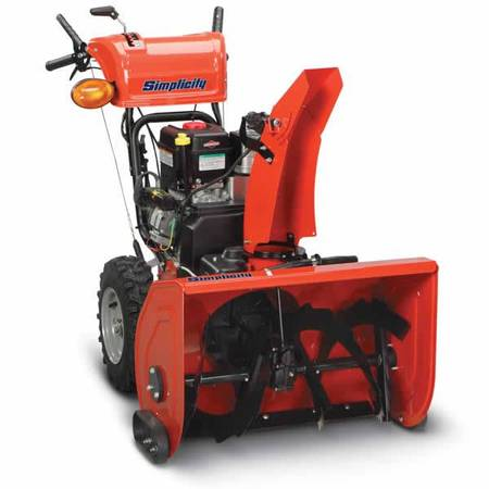 Photo Simplicity L1528e 10.5HP, 28 Commercial Snowblower, Like New  - $1,000 (Rochester)